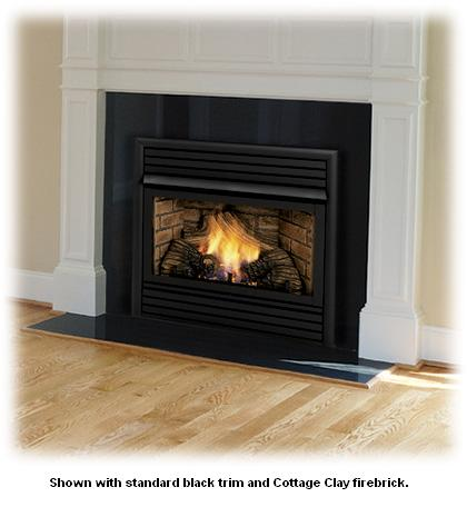 Monessen Dfx24c 24 Inch Vent Free Fireplace System Natural Gas