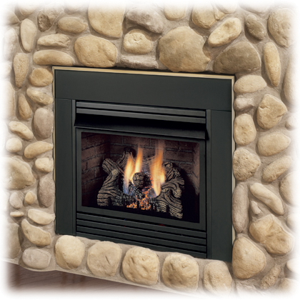 Monessen Dis33 Solstice Vent Free Fireplace Insert With Blower Natural Gas