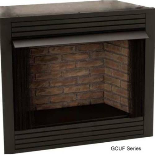 Monessen Gcuf Universal Vent Free Circulating Firebox With Louvers And Refractory Firebrick 36