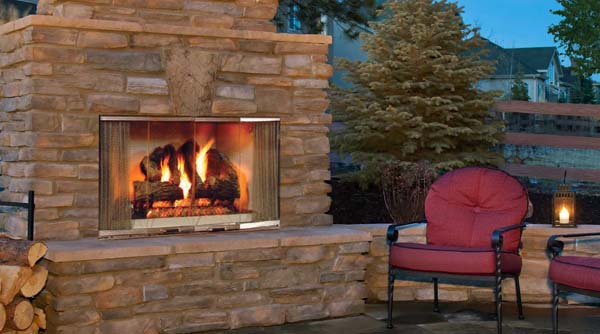 Monessen Montana Radiant Outdoor Wood Burning Fireplace - 42 Inch There are a lot of features of this model. For one