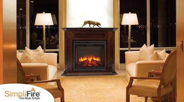 Monessen SimpliFire Built-In Electric Fireplace - 30 Inch