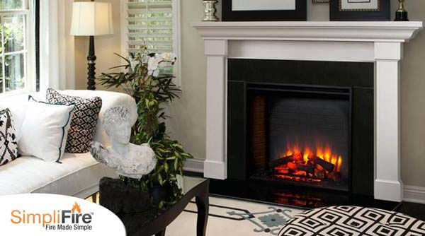 Monessen Simplifire Built In Electric Fireplace 36 Inch