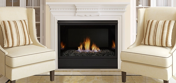 Aria 32 Inch Vent Free Fireplace System with IPI Controls