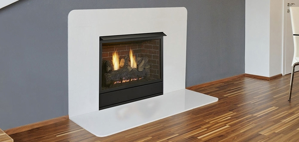 Aria 36 Inch Vent Free Fireplace System with IPI Controls