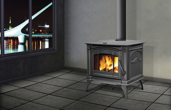 Napoleon 1400C Cast Iron EPA Wood-Burning Stove - 1400C Cast Iron EPA Wood-Burning Stove