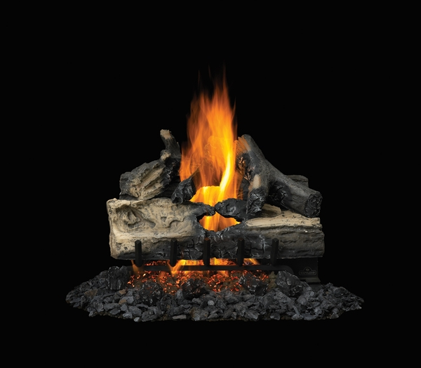 Napoleon 22 Reversible Natural Gas Vented Gas Log Set With Electronic Ignition Gl22n