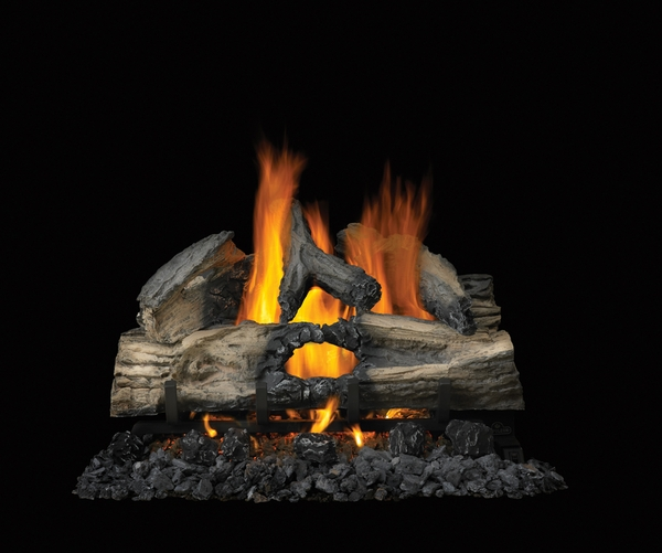 Napoleon 28 Reversible Natural Gas Vented Gas Log Set With Electronic Ignition Gl28n
