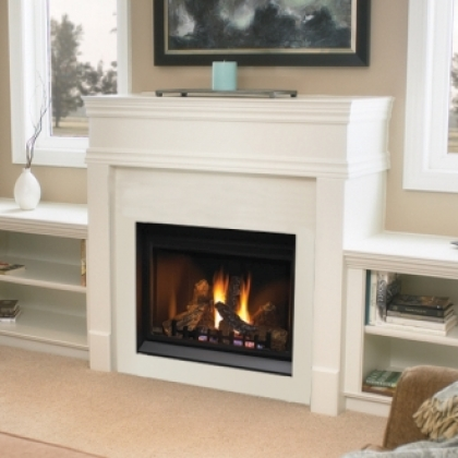Napoleon Bgd36cfntr Clean Face Direct Vent Gas Fireplace With Electronic Ignition 40 Inch