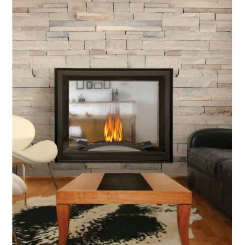 Napoleon BHD4 Ascent Multi-View Direct Vent See-Thru Gas Fireplace Napoleon provides the easy solution of enjoying a roaring fire in more than one room of your home with their line of direct vent and see-thru gas fireplaces. No need to cut