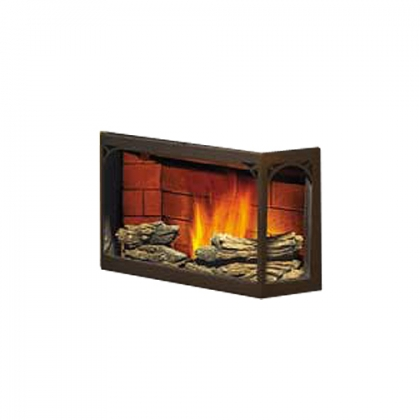 Napoleon Decorative Phazer Ceramic Log Set For Nps40 Pellet Burning Stoves Nps45 Pellet
