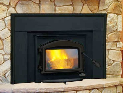 Napoleon Deluxe Epa Wood Burning Fireplace Insert Complete Package Deal