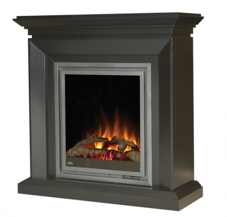 napoleon ef30 electric fireplace with heater and deluxe