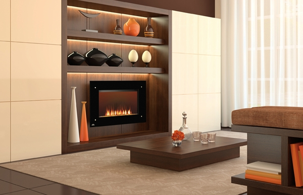 Napoleon Ef39s Decorative Wall Mounted Electric Fireplace