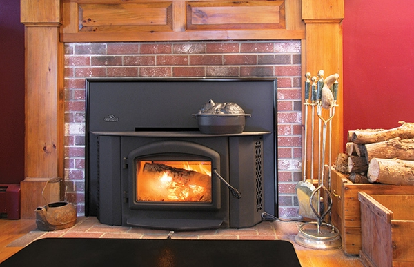 Napoleon EPA Wood Burning Fireplace Insert - EPI-1402 The 1402 Wood Burning Fireplace Insert