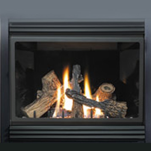 Gas Fireplace Kits : Napoleon gas fireplace contour louvre kit for bgnv