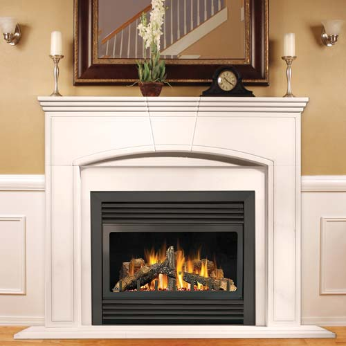 napoleon gd33nr direct rear vent gas fireplace 34 in