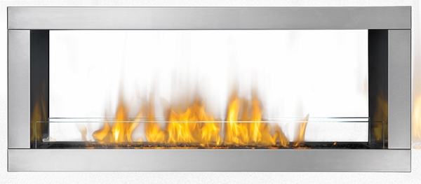 GSS48ST Galaxy Series See Thru Outdoor Linear Gas Fireplace