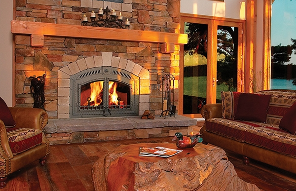 Napoleon High Country NZ6000 Wood Burning Fireplace There