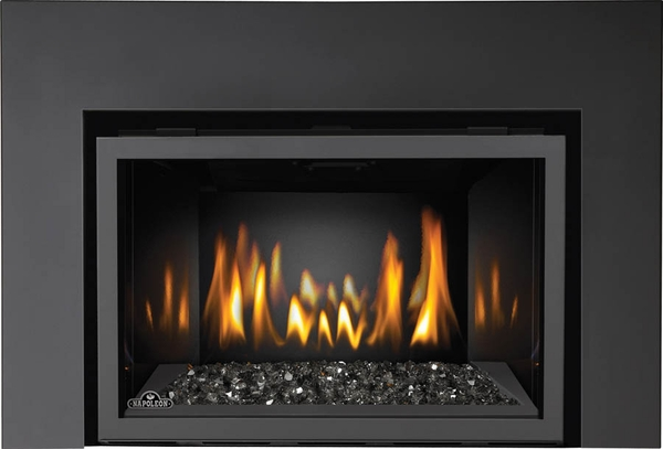 Wondrous Napoleon Ir3Gnsb Fireplace Insert With Night Light Ribbon Burner Topaz Ember Bed And Porcelain Panels Download Free Architecture Designs Grimeyleaguecom