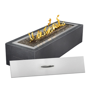 Napoleon linear patioflame gas fire pit for Table 52 petroleum