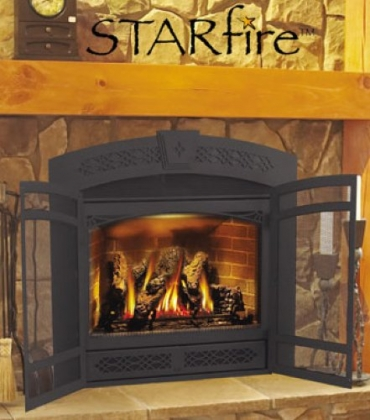 Napoleon Starfire Direct Vent Gas Fireplace With Electronic Ignition 38 Inch