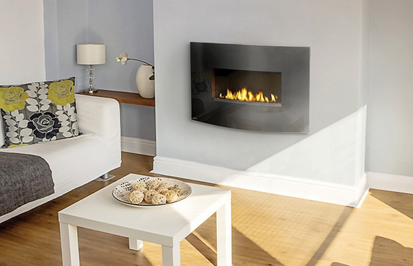 WHVF24 Vent Free Hanging Gas Plazmafire Fireplace with Catalytic Tiles