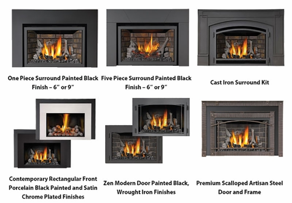 XIR3NSB Deluxe Fireplace Insert with Night Light and Radiant ...