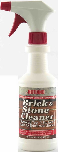 Non toxic brick and stone cleaner for Non toxic concrete cleaner