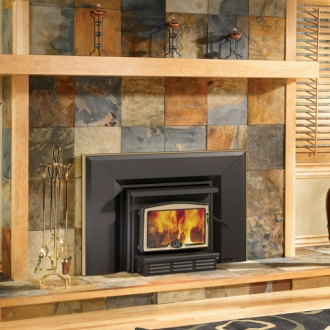 Osburn 1100 High Efficiency EPA Woodburning Insert with Blower There are woodburning inserts