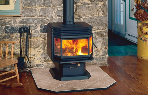 Osburn 1800 high efficiency epa wood burning stove for Small efficient wood stoves