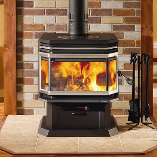 Osburn 2200 high efficiency epa bay window woodburning stove Wood burning stoves