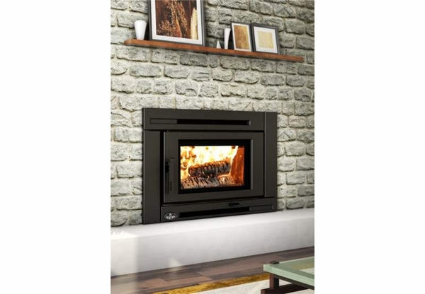 Osburn ob02021 high efficiency epa certified matrix wood for Modern wood burning insert
