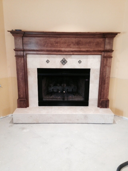 hht heat woodmantels the fireplace to surrounds selection cabinets wide from choose completely mantels mantel browse and your surround of designs wood look transform project with glo a