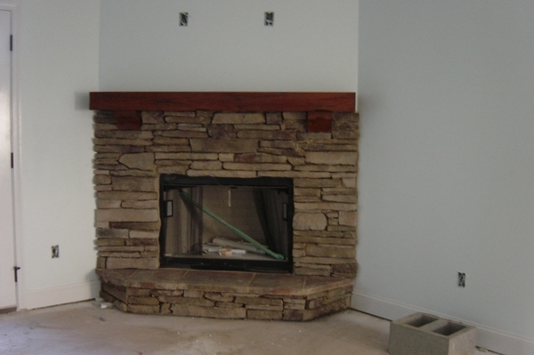 Pearl Mantels 412 Shenandoah Fireplace Mantel Shelf Pearl Mantels has developed a product that once it has been installed in your home