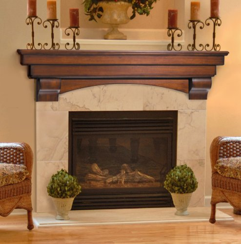 pearl mantels 495 auburn fireplace mantel shelf. Black Bedroom Furniture Sets. Home Design Ideas
