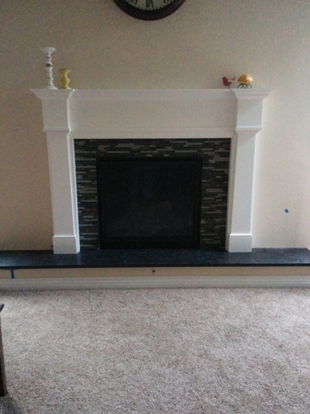 Pearl Mantels 550 Richmond MDF Fireplace Mantel in White Adding the Richmond Mantel from Pearl Mantels gives a room a sense of balance and stability