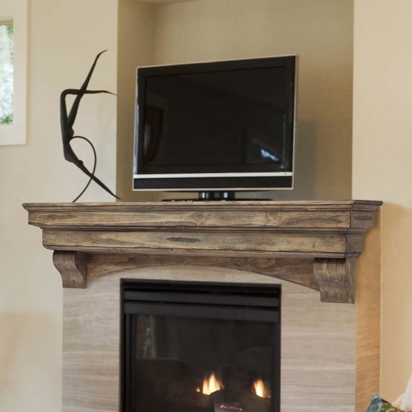 Mantels Celeste 48 Inch Fireplace Mantel Shelf 4974810