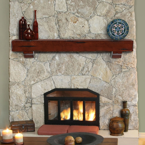 Mantels 412 Shenandoah Fireplace Mantel Shelf