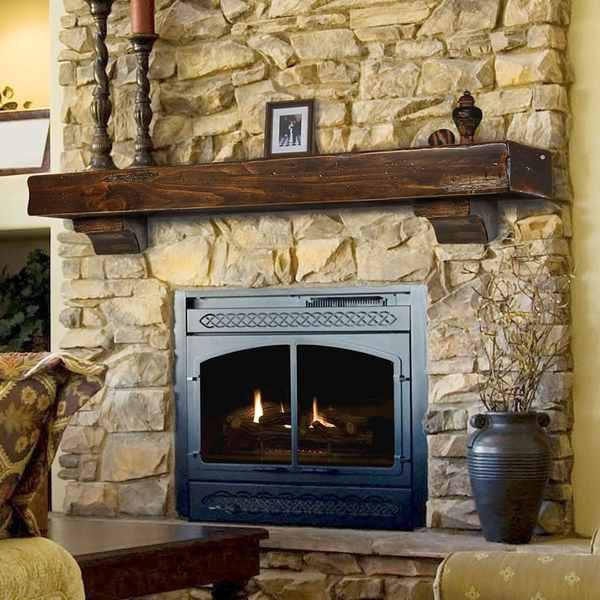 pearl mantels 412 shenandoah fireplace mantel shelf. Black Bedroom Furniture Sets. Home Design Ideas