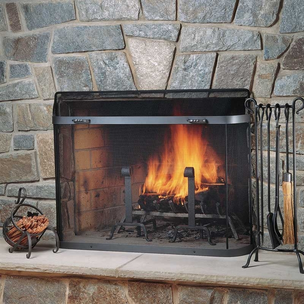 fireplace spark guards