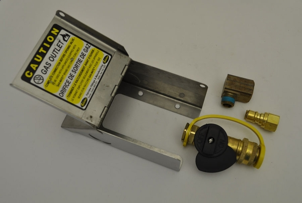 Natural Gas Bbq Outlet Box