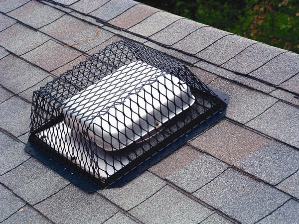 Roof Ventguard Stainless Steel 16 X 16 In Base 5 In