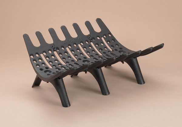 Saf T Grate 18 In Cast Iron Fireplace Grate