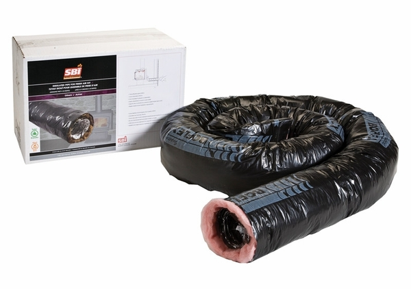 sc 1 st  eFireplaceStore & SBI 3 Inch x 10 Foot Insulated Flex Duct