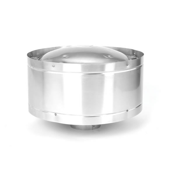 stove pipe cap. selkirk direct-temp direct vent vertical high-wind termination cap stove pipe