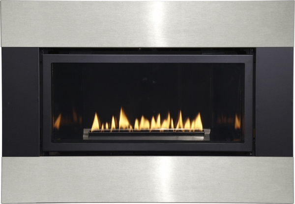 Empire Small Loft Direct Vent Gas Fireplace With Remote
