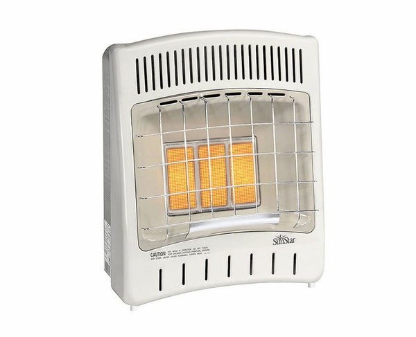 Sunstar Thermostat Control Sc18 Vent Free Radiant Infrared Propane Room Heater