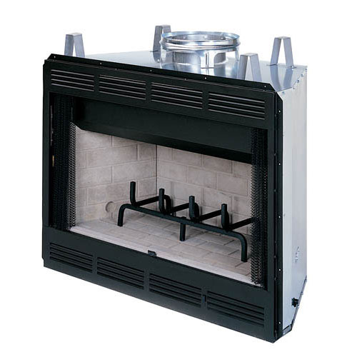 36 WCT Builder Series Circulating Wood Burning Fireplace WCT2036WS