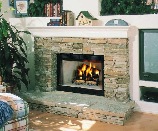 superior 36 quot wrt builder series radiant wood burning fireplace smooth face wrt2036ws