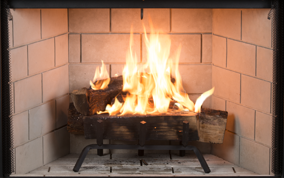 Enjoyable Superior 38 Inch Wood Burning Fireplace With Stacked Grey Liner Wrt3538Ws Home Interior And Landscaping Fragforummapetitesourisinfo